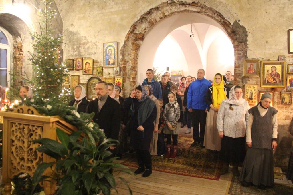 Рождество Христово на приходе Казанского храма деревни Грайвороны