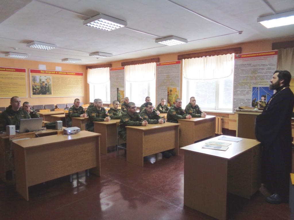 День памяти воинов-интернационалистов в войсковой части № 25801-Б - Казанский храм д. Грайвороны
